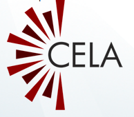 Image shows the CELA logo