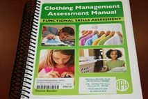 Cover of Clothing Management Assessment Manual.