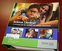 Cover of Science Literacy: A Curriculum for All Students with Sensory Impairments.