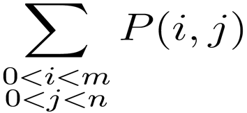 Example of complex math equation.